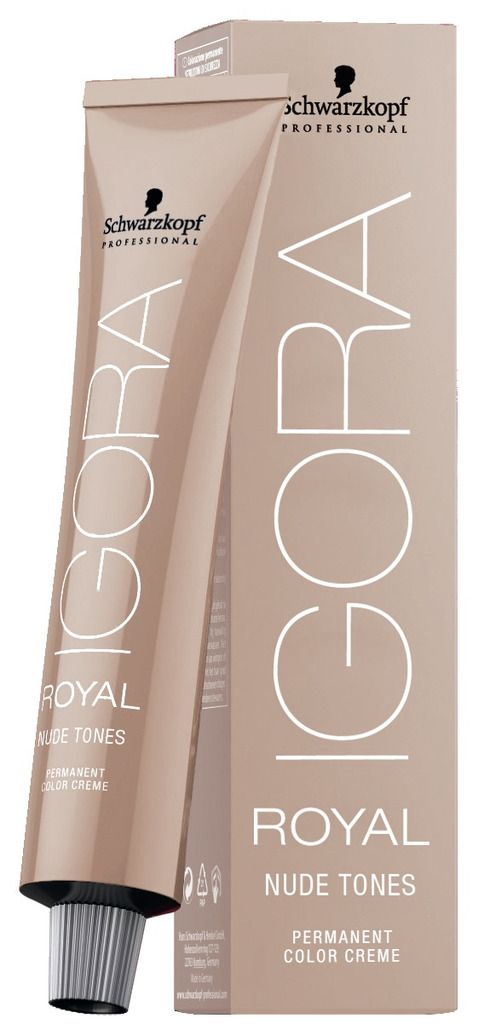 Igora Royal Nude Tones Tintura 6.46 - Louro Escuro Bege