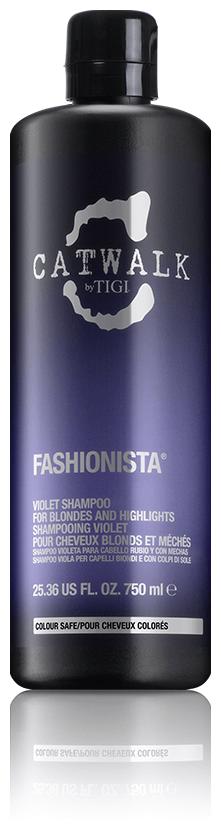 Tigi Catwalk Fashionista Violet Shampoo - 750 ml 300310