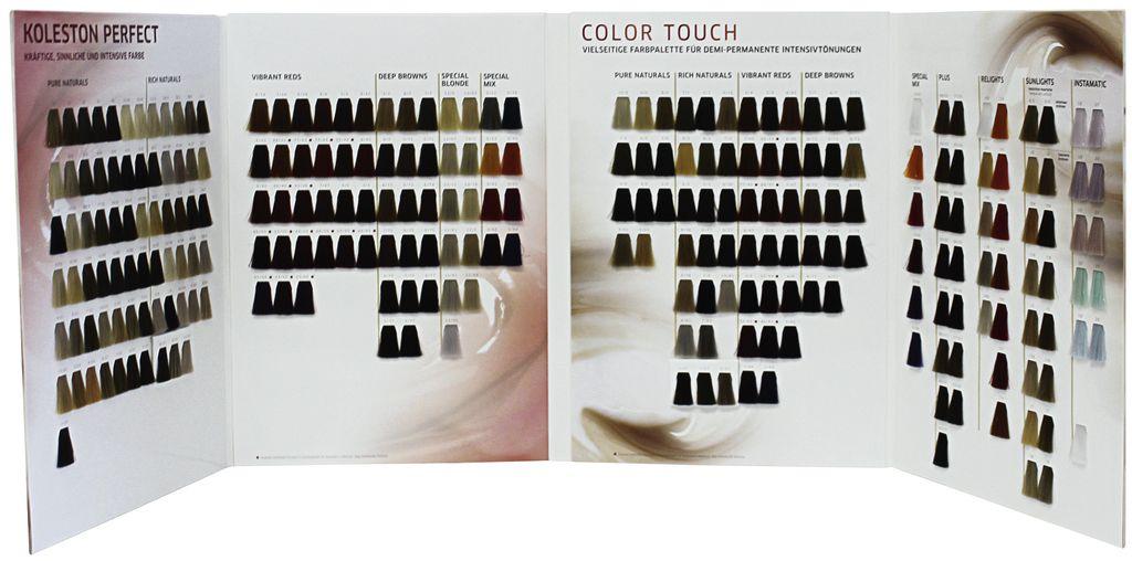 Wella Koleston Perfect Me Et Color Touch Nuancier Acheter En Ligne