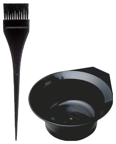 Comair Färbepinsel + Färbeschale schwarz