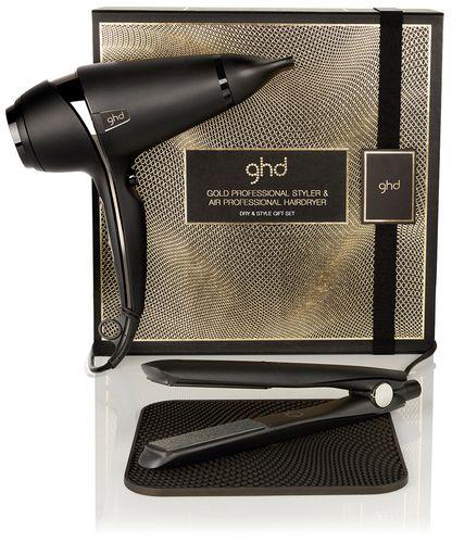 ghd dry & style Geschenkset - gold Styler, air Haartrockner