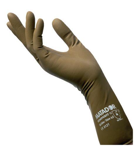 Hercules Sägemann Matator Latex Handschuhe - 6