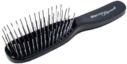 Hercules Sägemann Scalp Brush Piccolo - schwarz