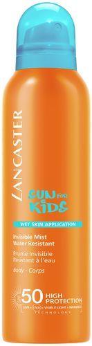Lancaster Sun Kids Invisible Mist Wet Skin Application SPF 50