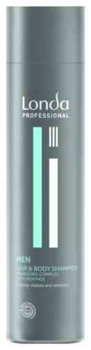 Londa Hair & Body Vitalisierendes Shampoo für Männer - 250ml
