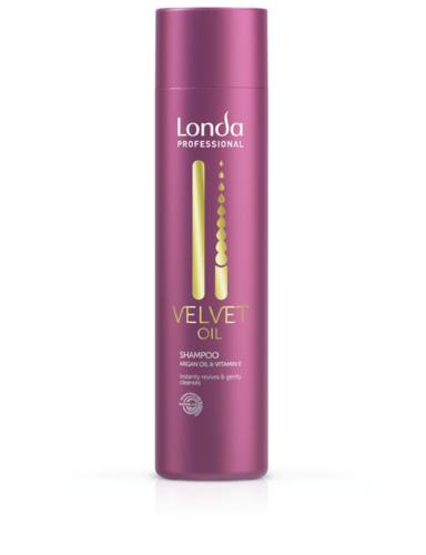 Londa Velvet Oil Shampoo Shampoo mit Arganöl - 250ml