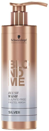 Schwarzkopf Blondme Blush Wash 250ml - Silver