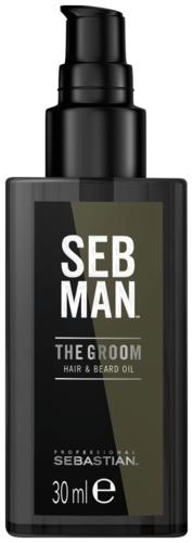 Sebastian Seb Man The Groom - Hair & Beard Oil