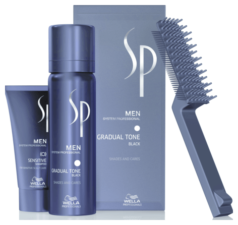 Wella SP Just Men Gradual Tone schwarz (60 + 30 ml) - 90ml