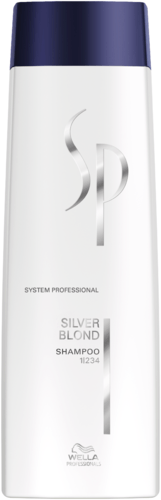Wella SP Silver Blond Shampoo - 250ml